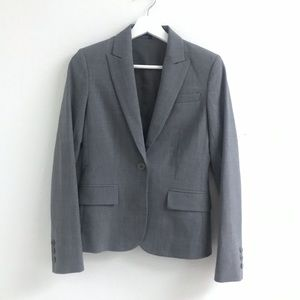 Theory wool suit jacket and pencil skirt